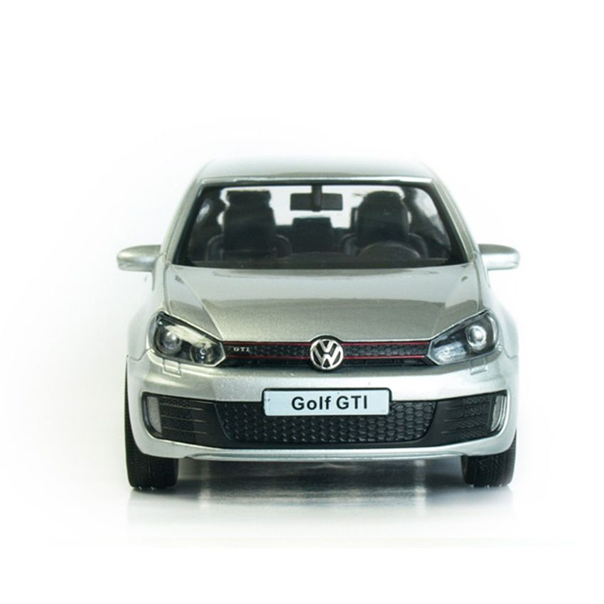 R Golf GTI 1:36 Toy Vehicles Alloy Pull Back Mini Car Replica Authorized By The Original Factory Model Toys Acousto-optic Kids