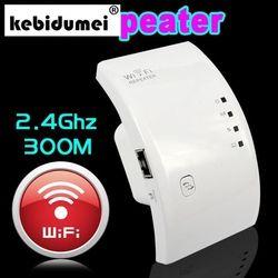 Kebidumei 2018 nuevo Wireless Wifi repetidor 802.11N/B/G Red Wifi enrutador expansor w-ifi antena Wi fi Roteador amplificador de señal