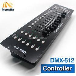 192 DMX Profesi Controller Panggung Peralatan DJ DMX 512 Konsol Par LED Lampu Moving Head DJ Controller Tidak Mikrofon