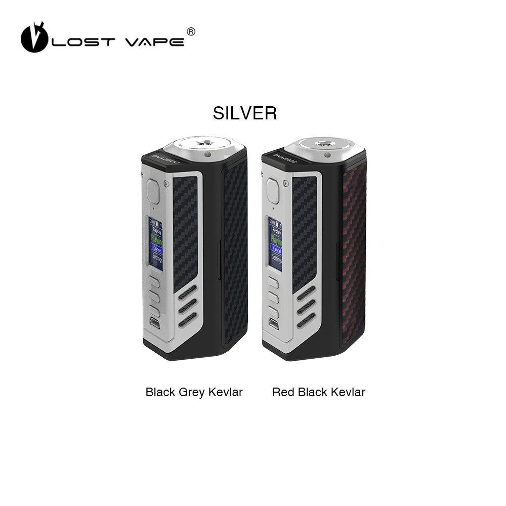Verloren Vape Triade 300 watt DNA250C TC Box MOD mit 300 watt Ausgang Riesige Power & 2 Rahmen Farbe mit 2 seite Inlay Optionen E-cig Vape Mod
