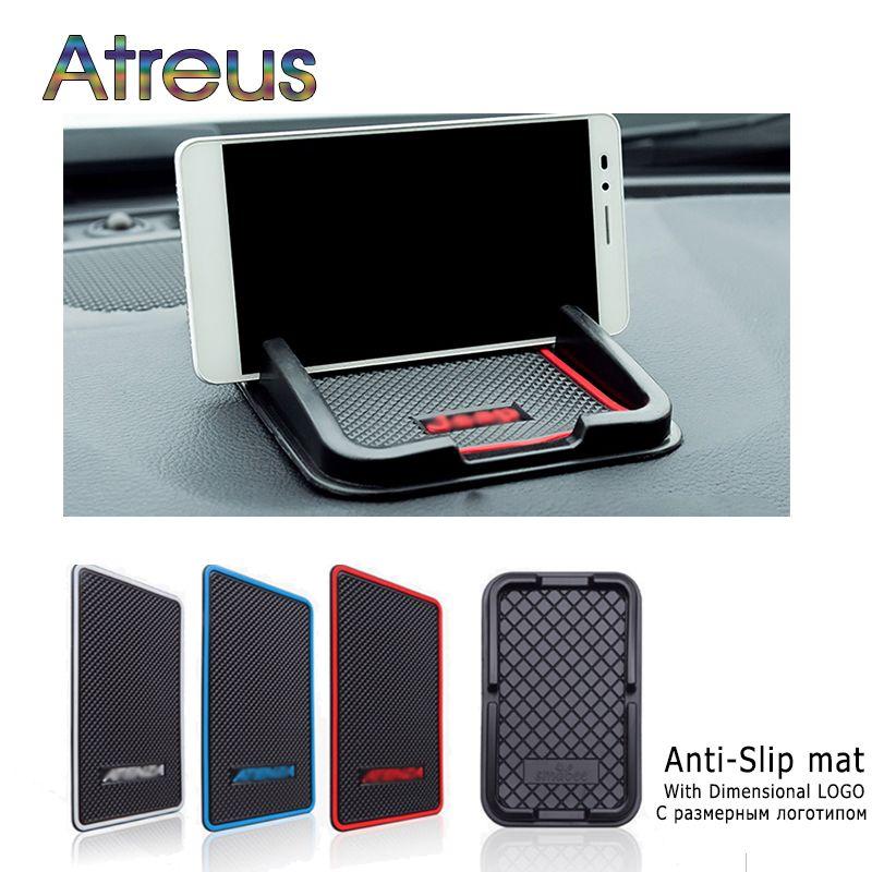 Atreus Car Anti-Slip Mat Stickers For BMW X5 E53 E46 E39 E60 E90 E36 F30 F10 Ford Focus 2 3 Fiesta Mondeo MK4 Kuga Accessories