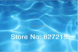 W-7262  Water Texture Print Ceiling Tiles PVC Stretched Ceiling Film Width 1.5 -3.2m Length as per your request