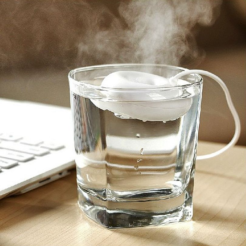 Mini humidificateur d'air portatif de beignet d'usb de Coronwater