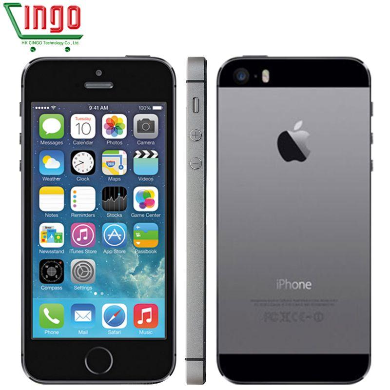 iPhone 5s Factory Unlocked Apple iPhone 5s 16GB 32GB 64GB ROM 8MP iOS 4.0