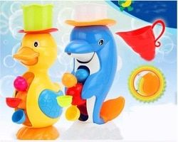 New Arrival Children Faucet Bath Toy Baby Bath Duck Toys In Bathroom Kids Water Spraying Tool Gift For Boys Girls Baby