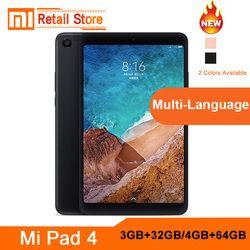 Original Xiao mi mi Pad 4 Lte Wifi 4GB64GB 8