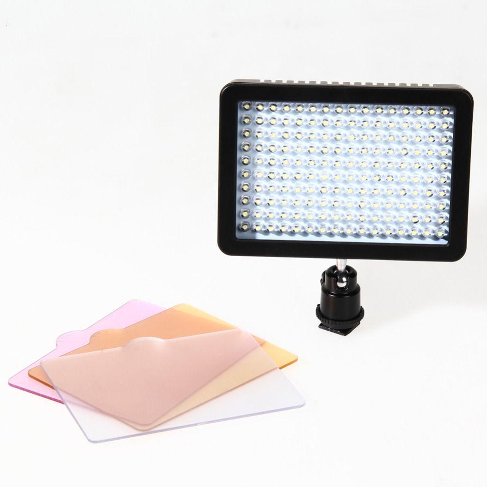 60 LED фото видео света Камера вспышки стробоскопа лампа для Canon Nikon Sony видеокамера DV лампы свет Камера