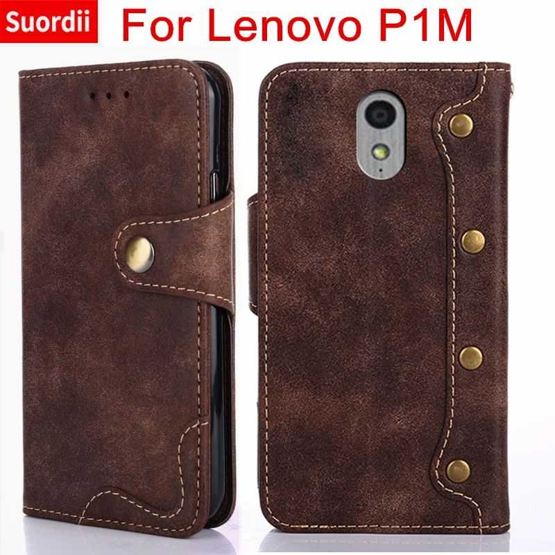Case For Lenovo Vibe P1m P1ma40 P1mc50 Phone Wallet Leather Flip Cover For Lenovo P1 m P1M 5.0 Inch Stand Card Holder Coque
