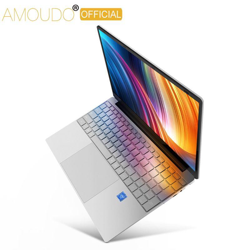 15,6 zoll Gaming Laptop 8 GB RAM 256 GB/512 GB/1 TB SSD Intel Core i3-5005U 1920*1080 P FHD IPS Bildschirm Computer Notebook