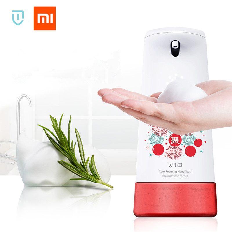 Xiaomi Mijia Xiaowei Intelligent Auto Induction moussant Machine à laver les mains distributeurs de savon lave-mains (version mise à jour)
