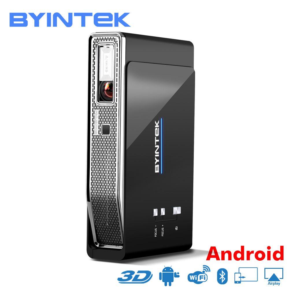 BYINTEK UFO R15 Smart Android WIFI Video Home Theater LED Tragbare lAsEr USB Mini HD DLP 3D Projektor für Volle HD 1080 p HDMI 4 karat