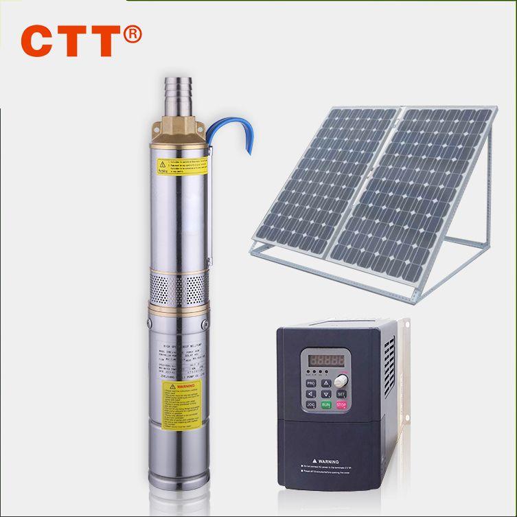 3FLA2-110-1.5 DC300/AC220V tauch solar wasserpumpe für brunnen