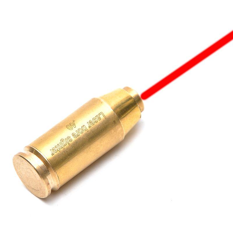 Cal.40 cartucho Red Dot laser bore sighter boresighter rojo avistamiento Sight cobre escopeta Caza caza