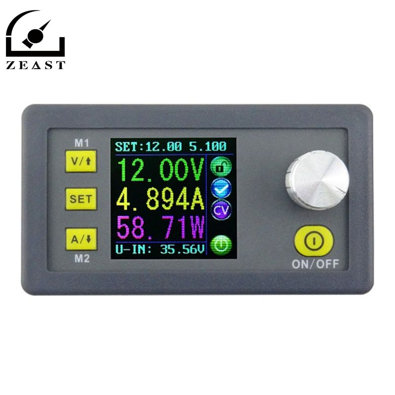 DPS3005 Constant Voltage current Step-down Programmable Power Supply module buck Voltage converter color LCD voltmeter
