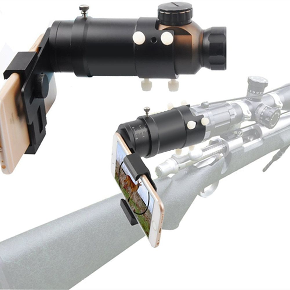 Rifle scope adapter Smartphone Mounting System- Smart Shoot Scope Mount Adapter - Display and Record the Discovery