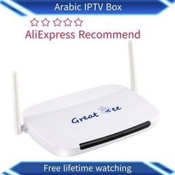 Great ee 2019 Free shipping No monthly payment best great bee Arabic  box for IPTV, Around 400 arabic channels