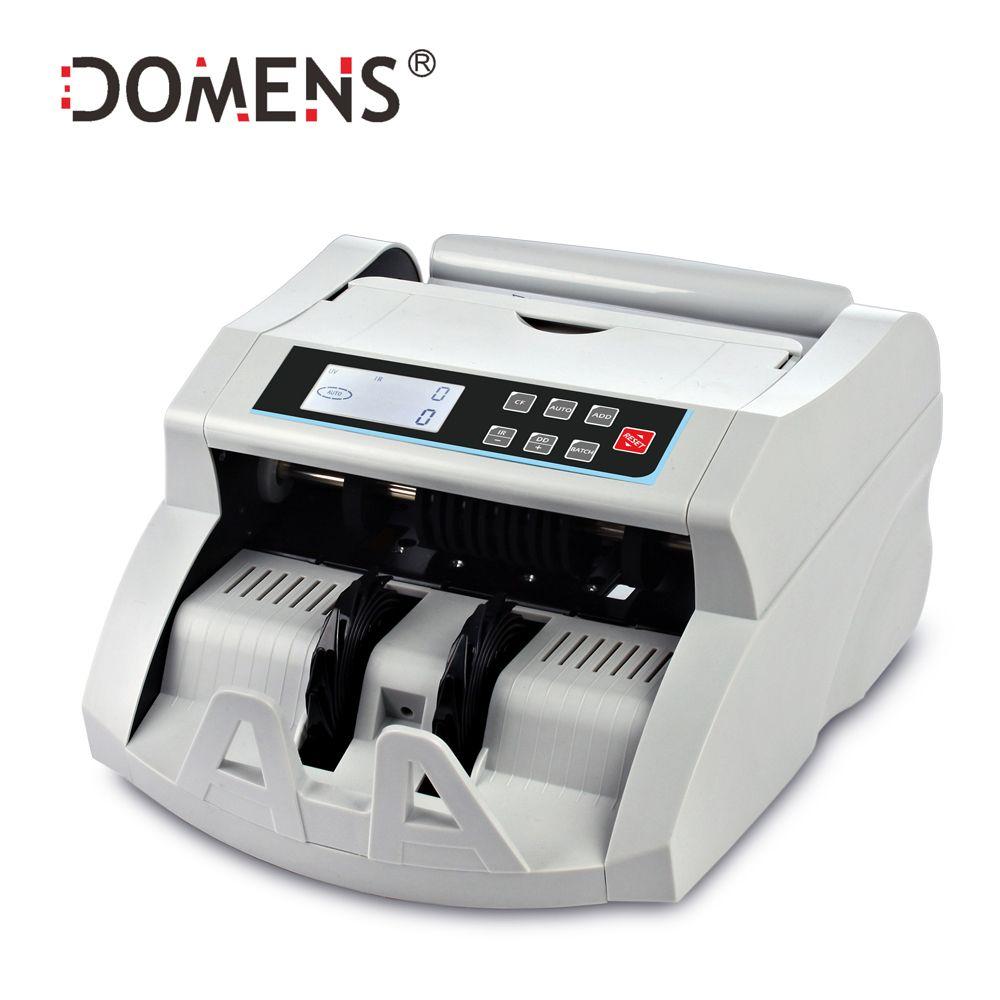 Compteur automatique de billets avec UV + MG + IR + DD détectant la Machine de comptage de billets adaptée à la nouveauté de compteur de billets multi-devises