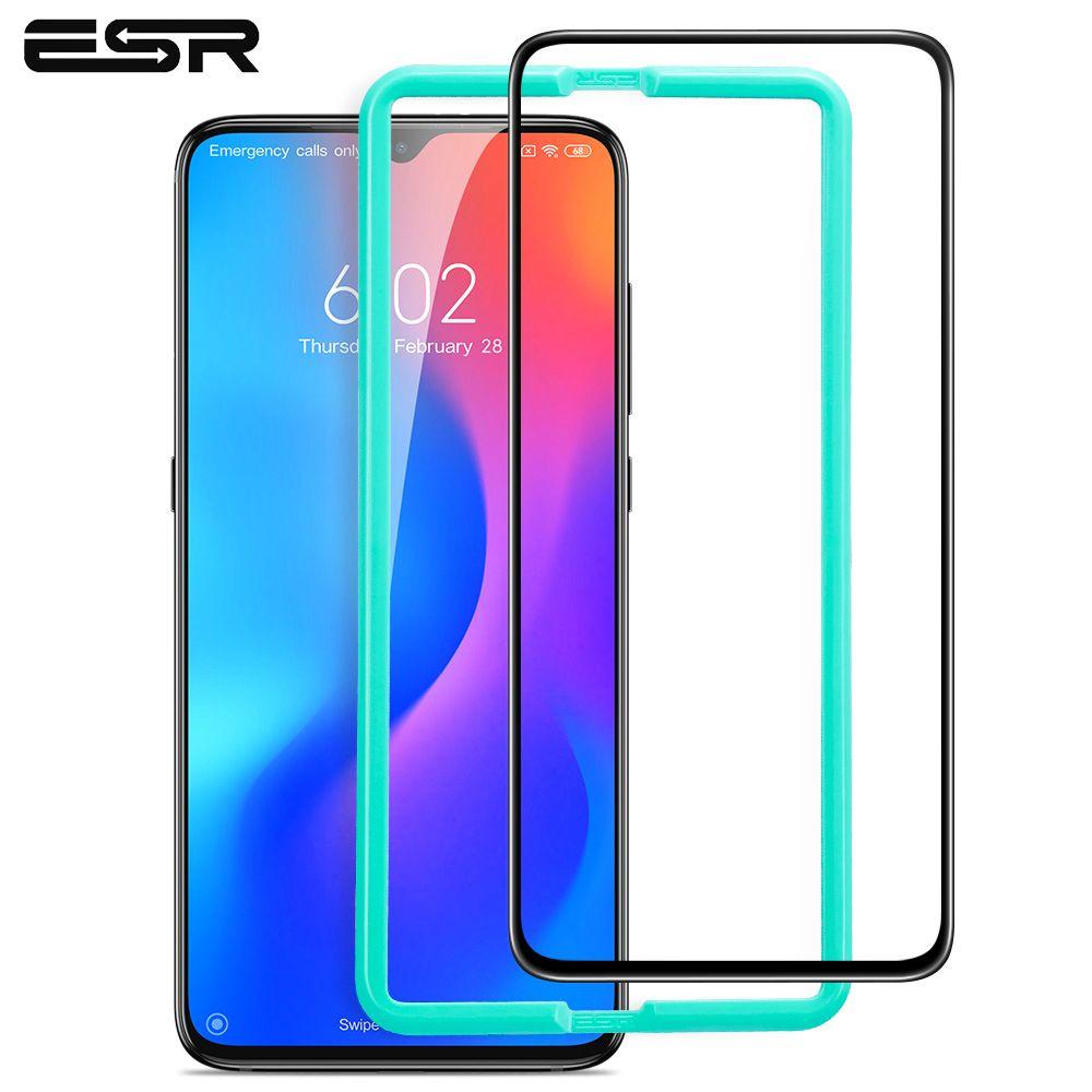 ESR protecteur d'écran pour Xiao mi mi 9 verre trempé 3D couverture complète verre protecteur 9H Anti Blue-ray couverture complète pour Xiao mi mi 9