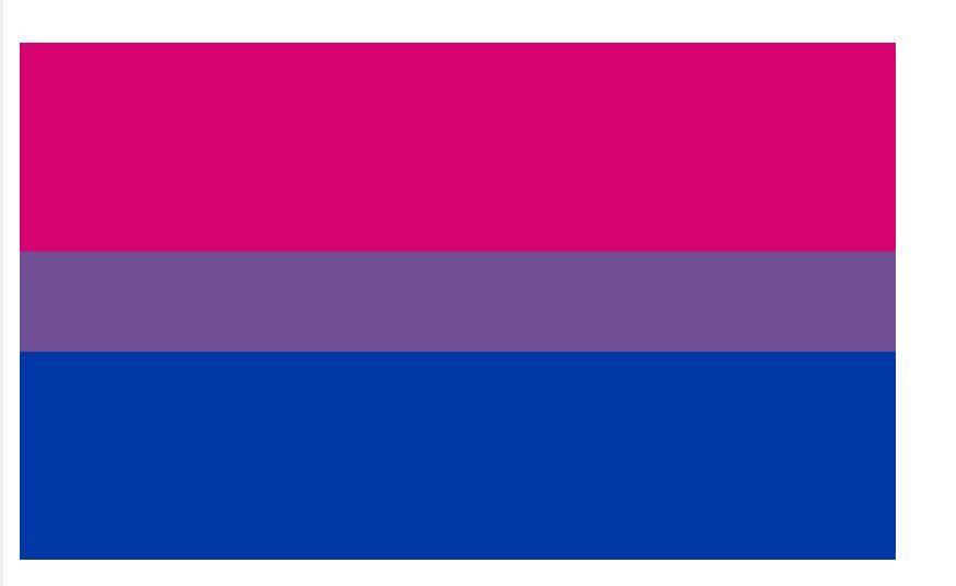 free shipping xvggdg Rainbow Flags 90x150cm Bisexual Pride Flag