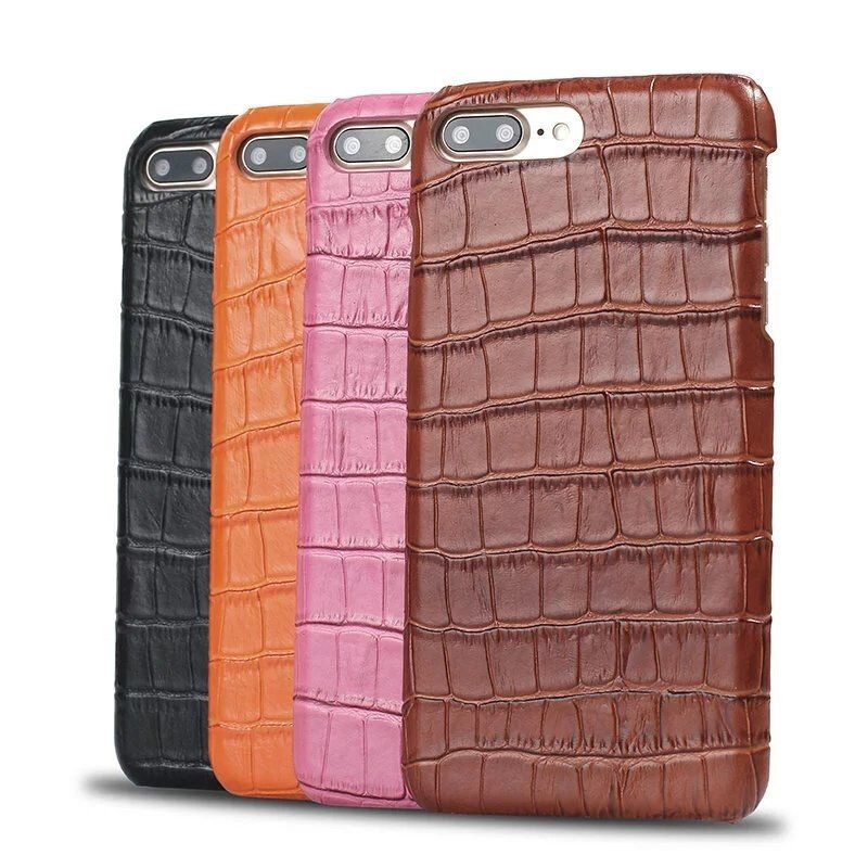 Luxury Crocodile Pattern Embossed Cases for iPhone X 8 8plus 7 7Plus 6 6plus Ultra Slim leather Cases For iPhone 6s 6splus