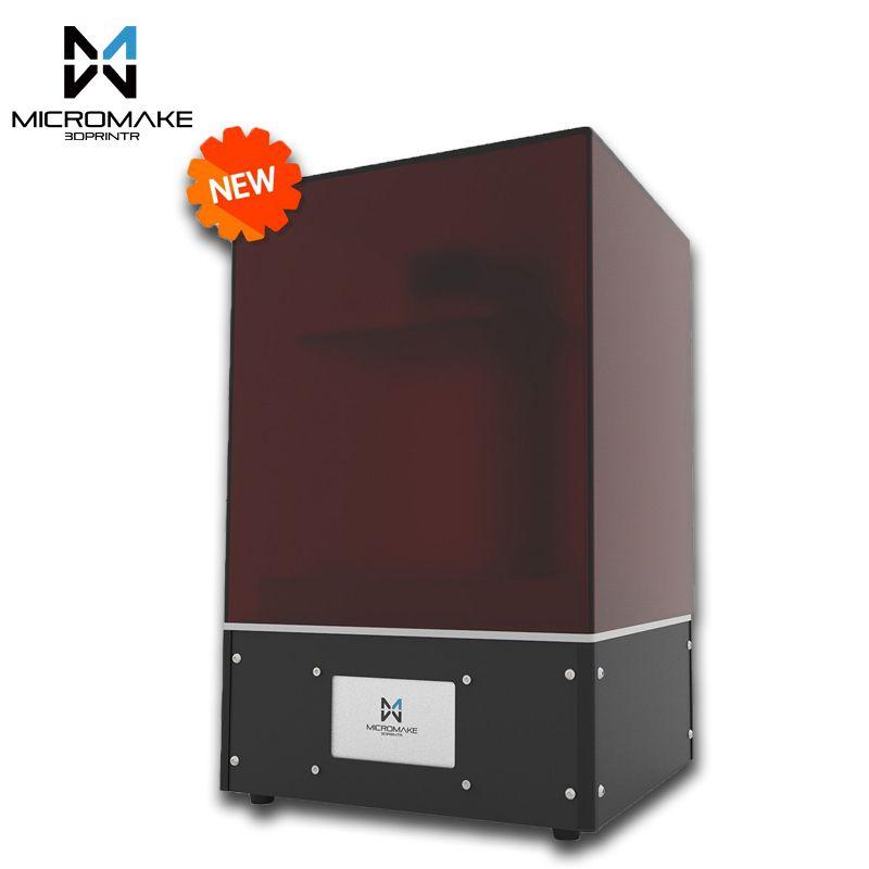 Micromake neue licht härtende L4 SLA/LCD/DLP 3D drucker druck volumen 190*120*225mm 24um genauigkeit für Schmuck zahnmedizin