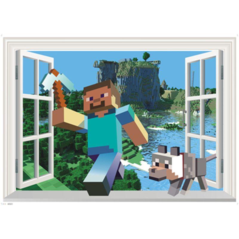 1Pc 3D Sticker mural bricolage Stickers muraux pour enfants chambres décoration de la maison accessoires pour salon chambre affiches