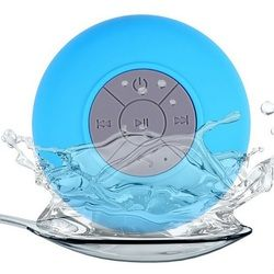 Shower Speaker Waterproof Wireless Bluetooth Sucker Bass With Micro Phone Function Hands-free Music for Car Bathroom Office Home