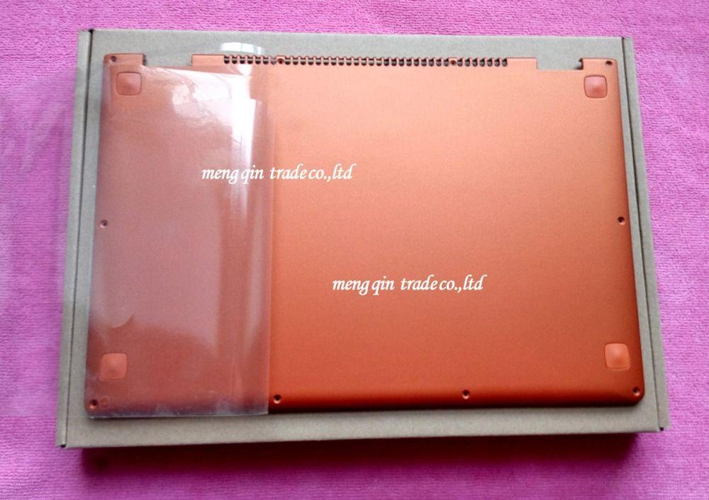 New Original for Lenovo Ideapad Yoga 13 Base Bottom Cover Orange Lower Case with Speaker L+R Wireless Antenna 11S30500246