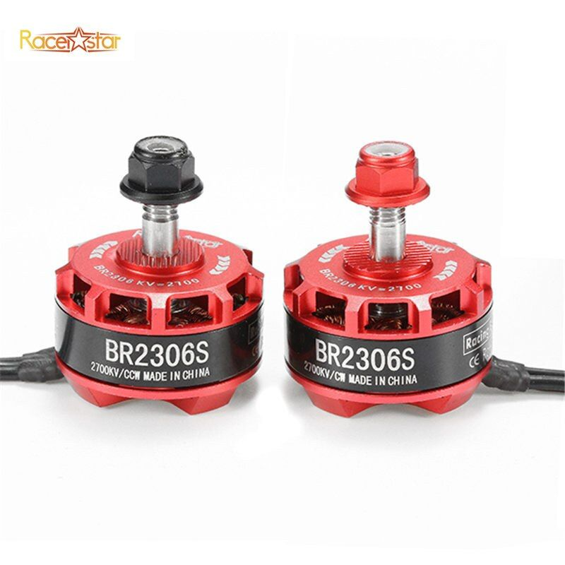 High Quality Racerstar Racing Edition 2306 BR2306S 2700KV 2-4S Brushless Motor For RC Toys X210 X220 250 FPV Racer Drone