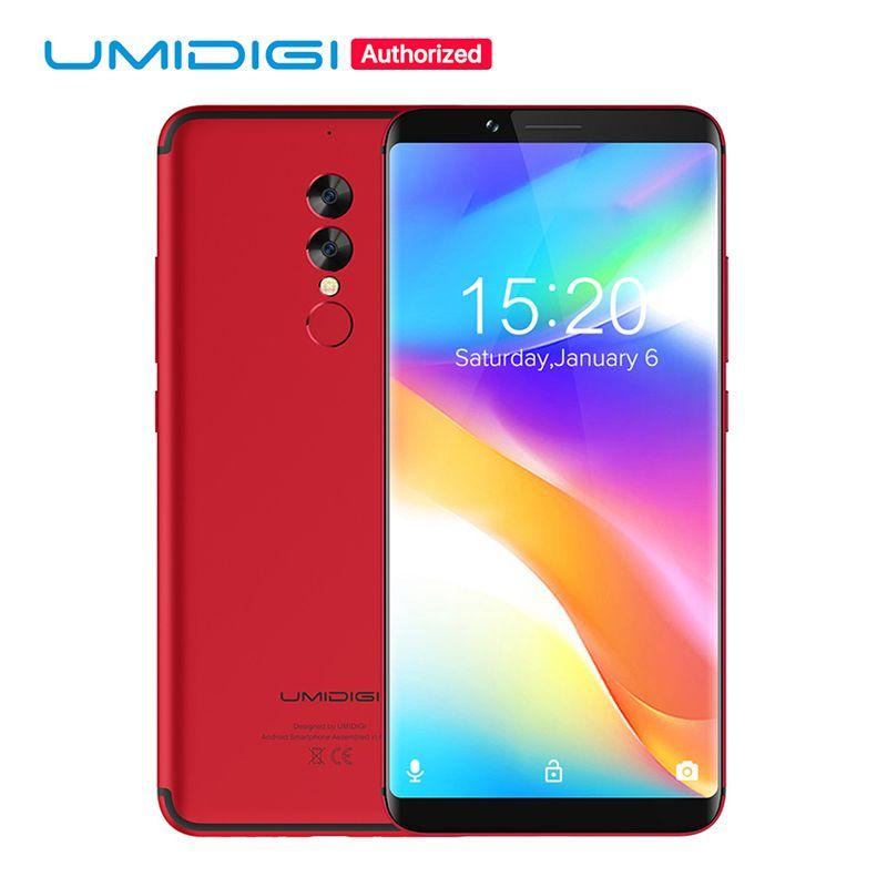 UMIDIGI S2 Lite 18:9 Full Screen Smartphone 5100mAh 4GB+32GB 16MP+5MP Dual Camera Face ID Android 7.0 4G LTE Mobile Phone