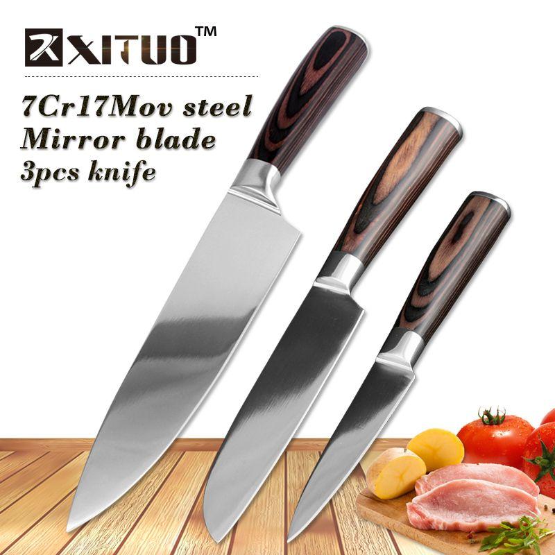 XITUO 3 pcs kitchen knives set 8