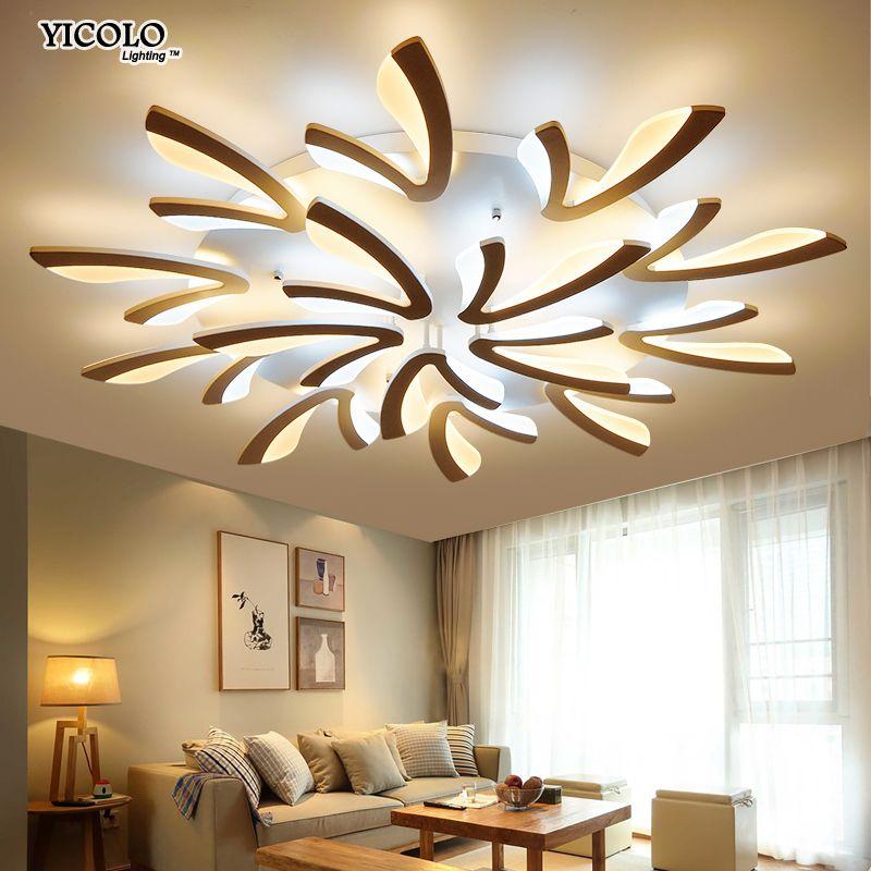 Acryl Moderne led-deckenleuchten für wohnzimmer schlafzimmer esszimmer hause decke lampe beleuchtung leuchten kostenloser versand