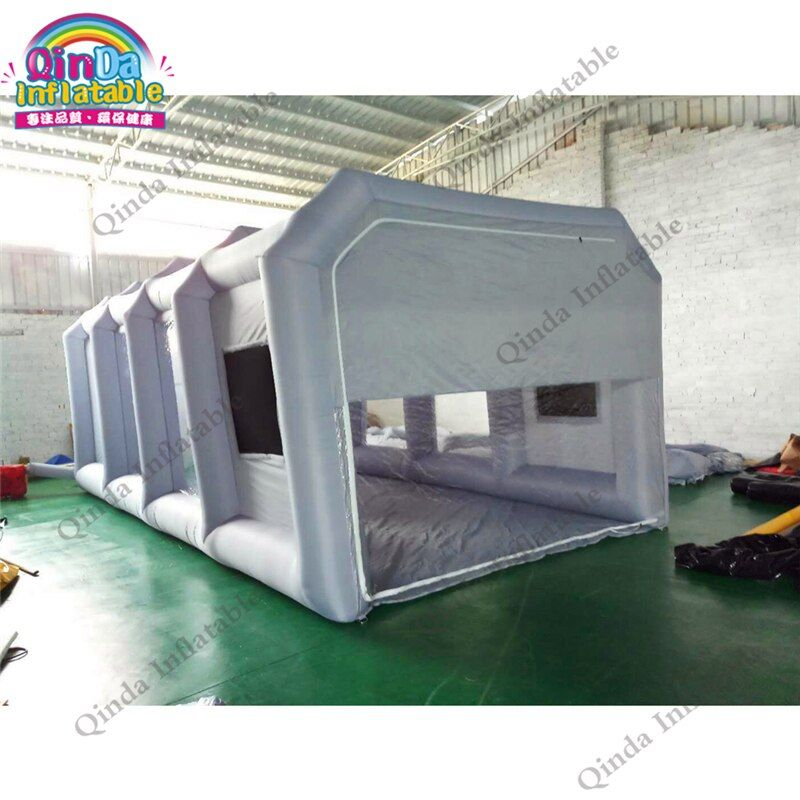 Hot sale mobile inflatable spray booth tent portable inflatable paint booth tents for car maintaining with carbon air filters
