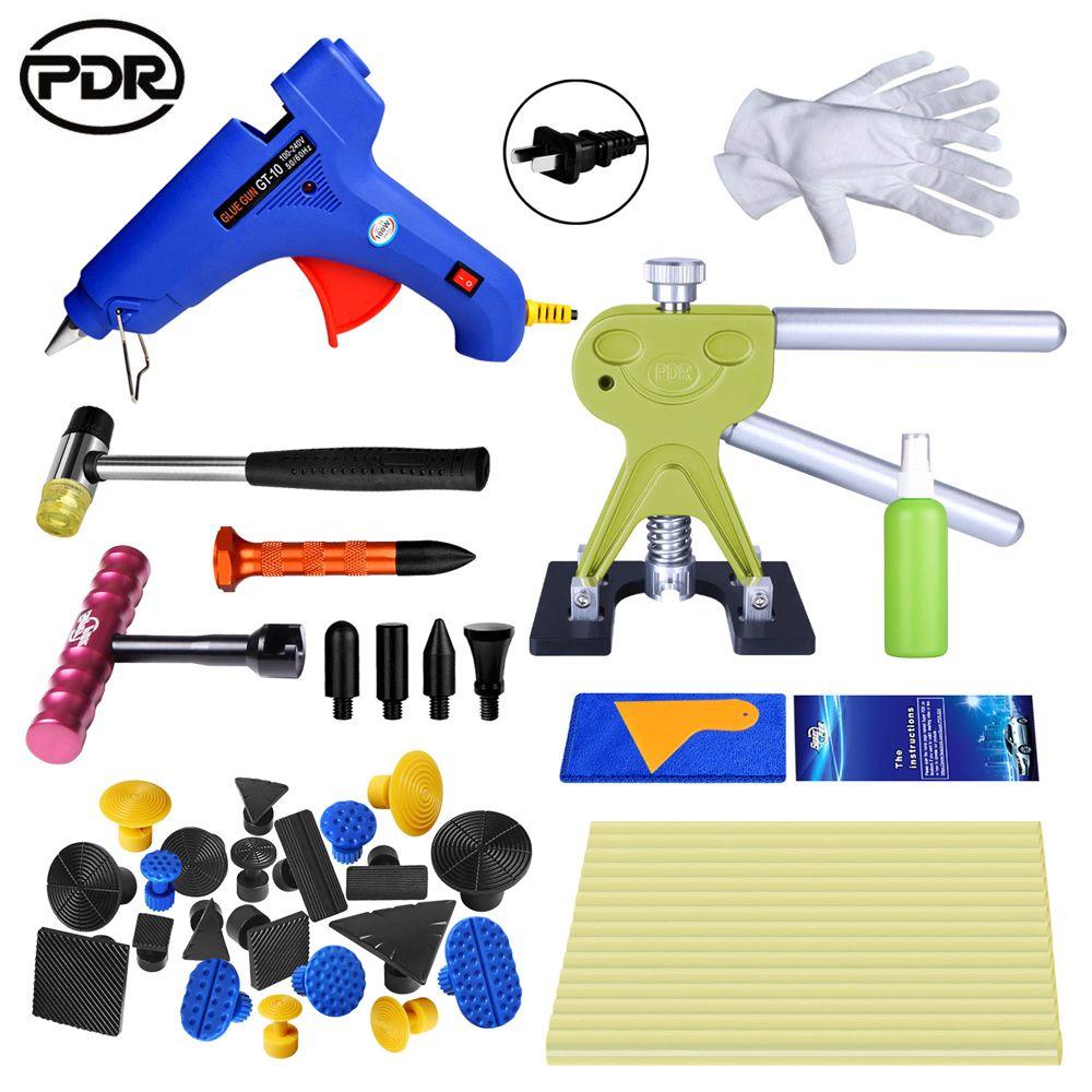 PDR Paintless Dent Repair Auto Repair Tool Automotive Tools Dent Repair Kit Car Body Tool Kit Dent Puller Tool Set