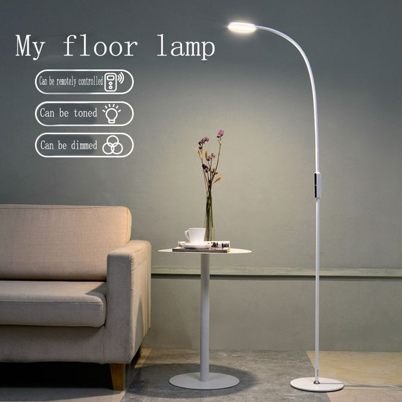 LED Floor Lamp 9W 5-Level Brightness Touch Switch Modern Contemporary Light for Living Room Bedroom Office Reading Piano Lamp