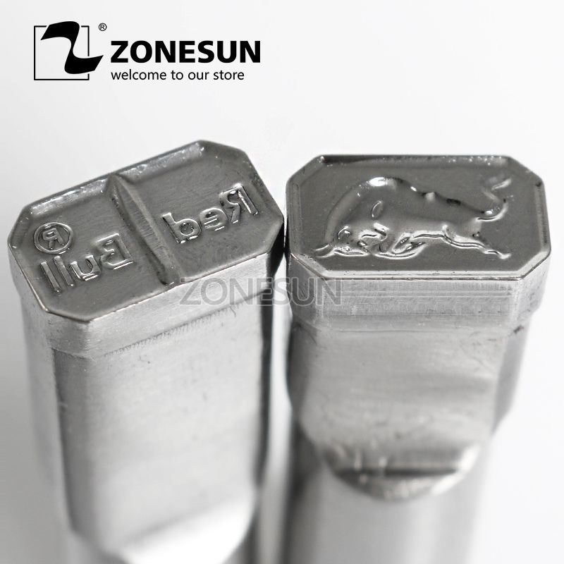 ZONESUN Bull Logo Customized Candy Sugar Milk Stamp Punch Die Mold Tablet Press Tool Punch Press Die TDP 0/1.5/3/5 For Machine