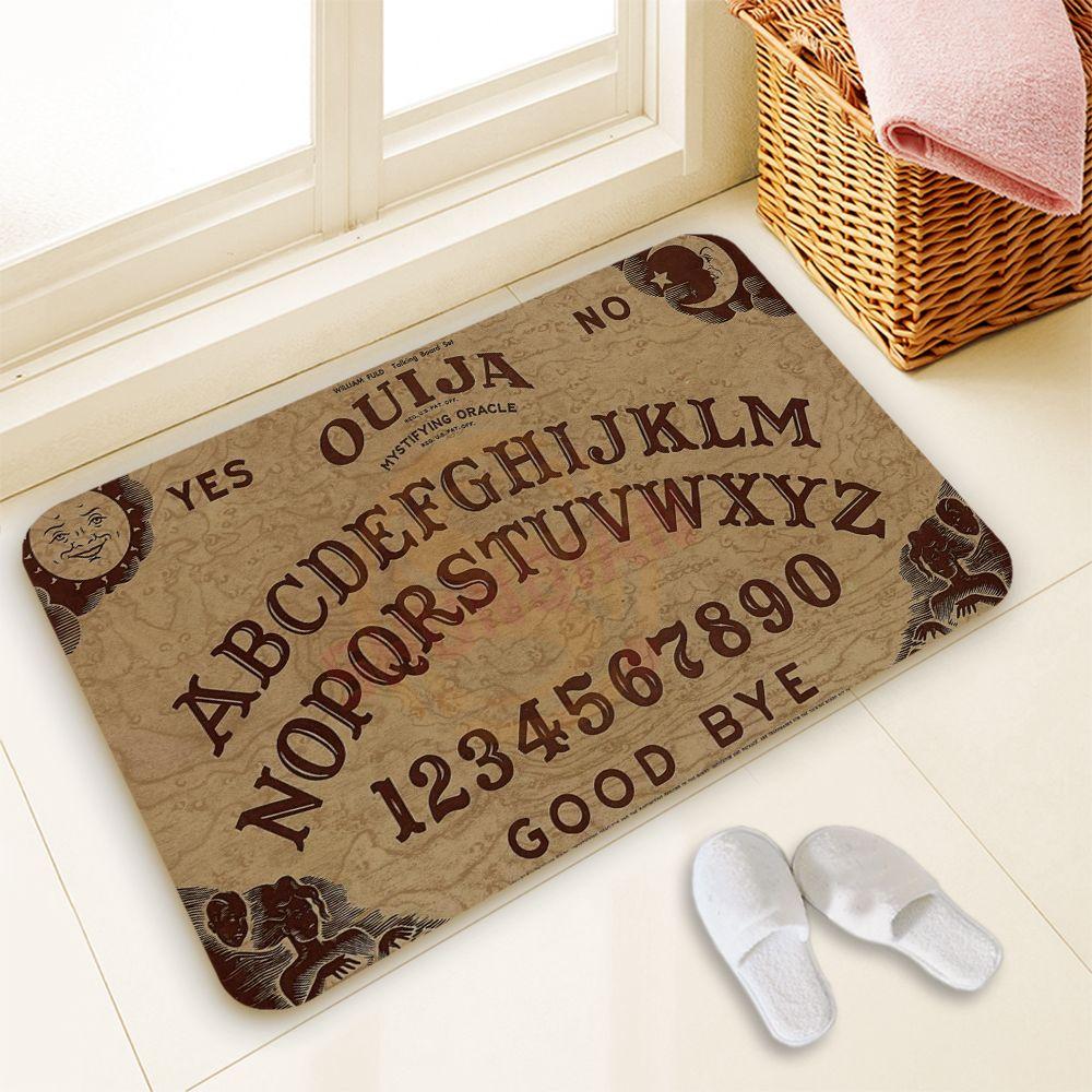 Hot Sale Custom Ouija Board Door Mat Art Design Pattern Printed Carpet Floor Hall Bedroom Cool Pad Fashion Rug 40x60cm