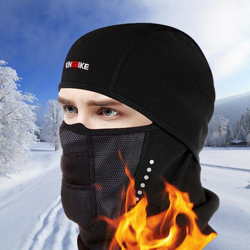 Winter Cycling Full Face Mask Warmer Fleece bicycle Scarf Masks Windproof Ski Masks Outdoor Sport Thermal Fleece Balaclava Mask