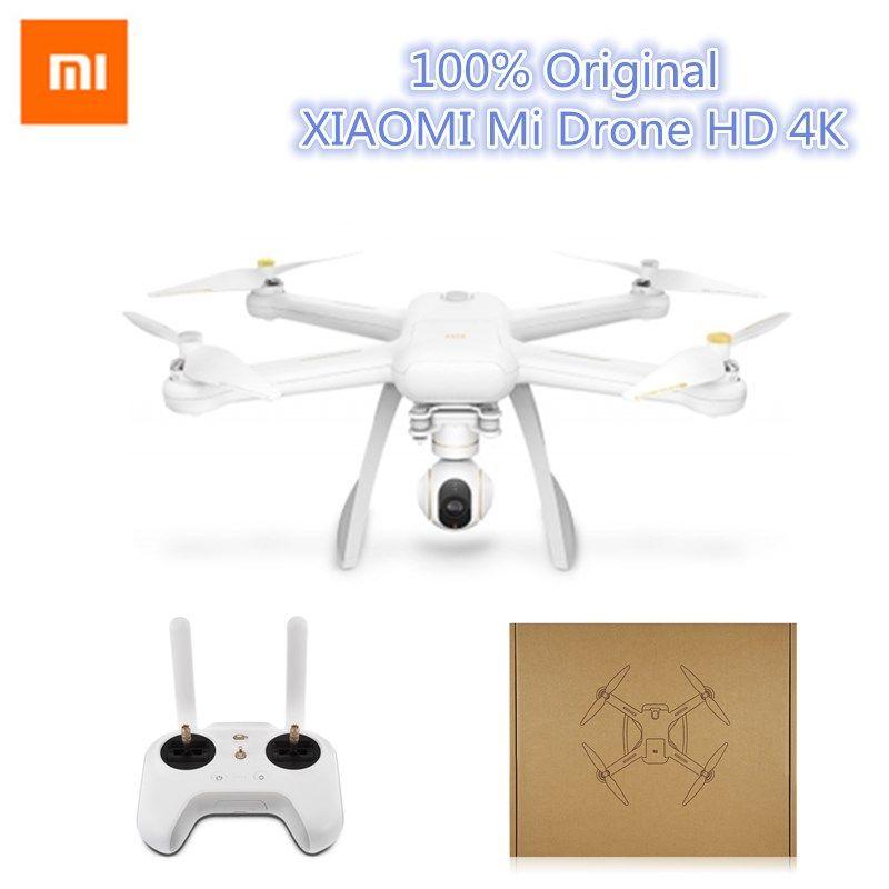Xiaomi Mi Drone Englische App WIFI FPV 4 Karat Kamera RC Quadcopter Drone 3-achsen GimbalHelicopter HD Video Nehmen Fern