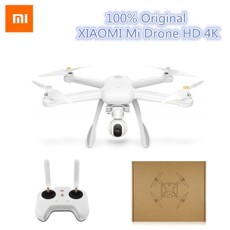 Xiaomi Mi Drone English App WIFI FPV 4K Camera RC Quadcopter Drone 3-Axis GimbalHelicopter HD Video Record Remote