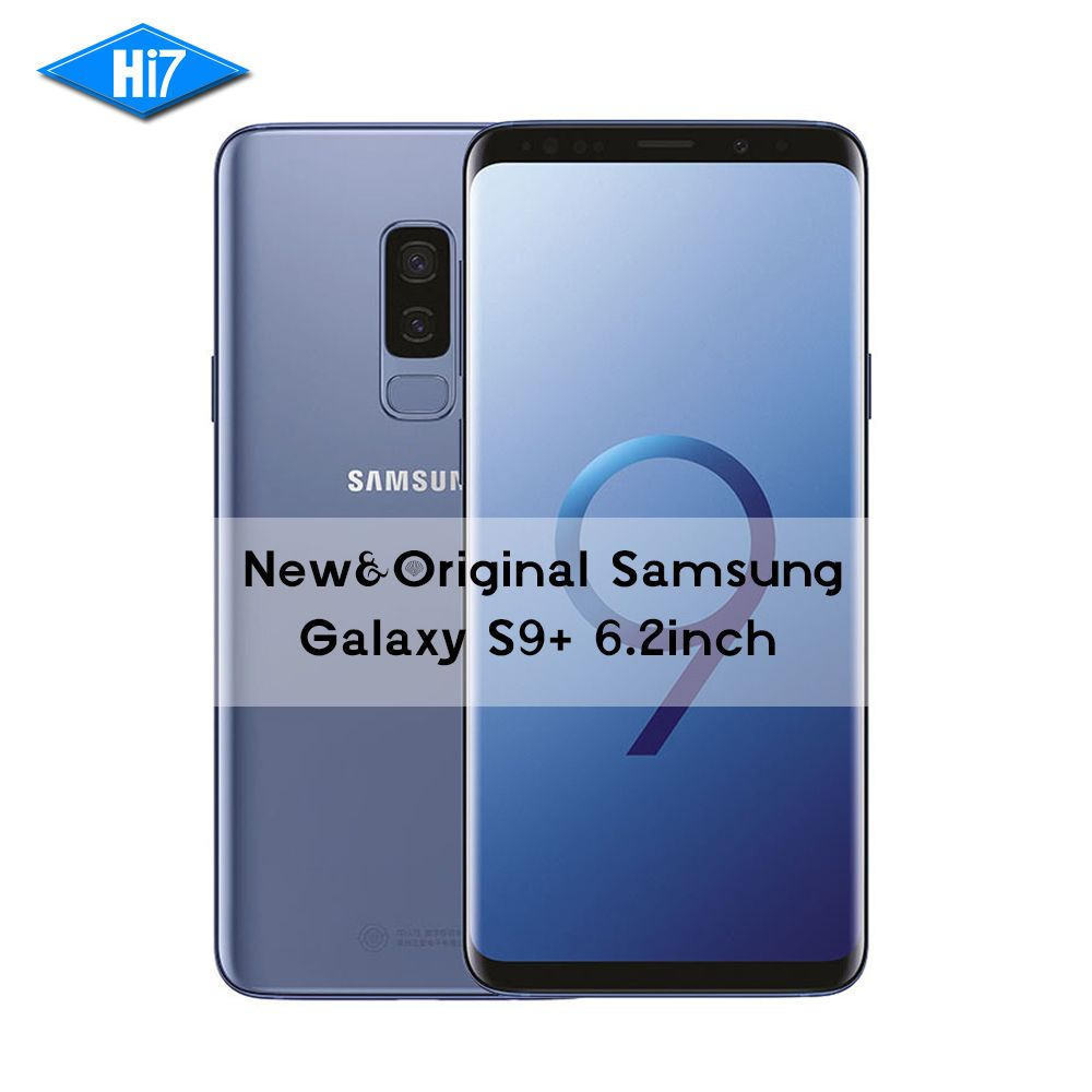 New Original Samsung Galaxy S9 Plus 6,2 zoll Dual Sim 6 GB RAM 64 GB/128 GB/256 GB ROM Android 8.0 Fingerprint LTE 4G Mobile telefon