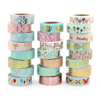 1X Feuille Washi Bande Scrapbooking Outils Mignon Adhesiva Decorativa Japonais Papeterie Washi Bandes