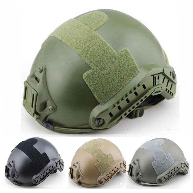Militärische Taktische Helm Schnelle Abdeckung Casco Airsoft Helm Sport Jagd Zubehör Paintball Schnelle Springen Schutz