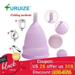 Hot Sale Menstrual cup for Women Feminine hygiene Medical100% silicone Cup Menstrual reusable lady cup copa menstrual than pads