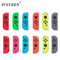 IVYUEEN Green Red Housing Replacement Cover for Nintend Switch Joy-Con Shell for NS Joy Cons Controller Plastic Case Accessories