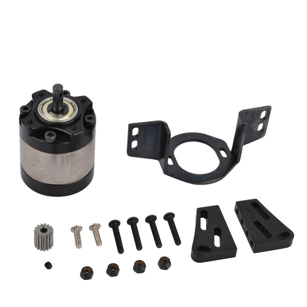 1:5 réducteur planétaire en métal pour 1/10 RC chenille D90 D110 Axial camion