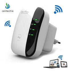 Centechia 2018 nuevo Wifi repetidor inalámbrico Routers WiFi 300 Mbps Range Expander amplificador de señal WIFI Ap Wps cifrado caliente