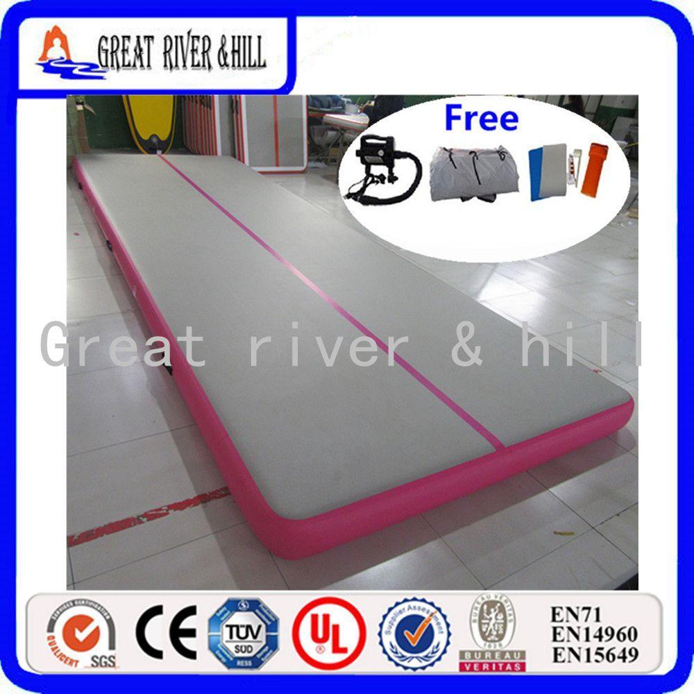 5 mt X 1,5 mt X 0,1 mt Hand leicht Gemacht tragen matratze aufblasbare gymnastikmatten luftkissenbahn