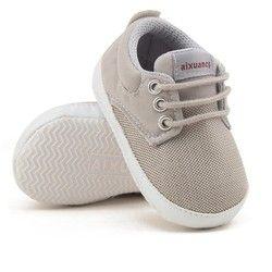 Sepatu bayi Anak Pertama Walkers Bernapas Jala non-slip Karet Sole Lace-up Sepatu 3 Warna