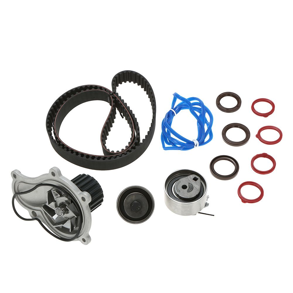 2017 Timing Belt Water Pump Kit for 03-10 Dodge Jeep Chrysler 2.4L A Motor That Circulates Coolant From The Engine To The Tank